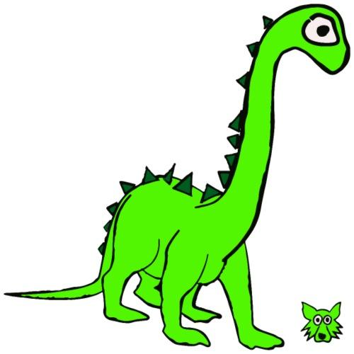 dinosauro - Maglietta Premium da uomo