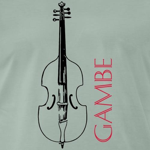 gambe6 2 2 - Männer Premium T-Shirt