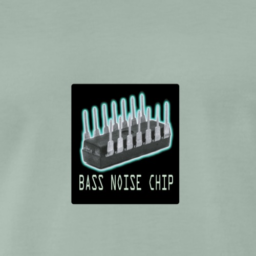 Bass voice chip design - Men's Premium T-Shirt