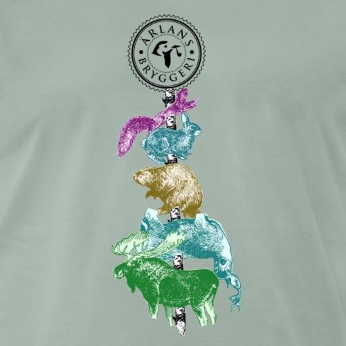 Ärlans Gåvor - Premium-T-shirt herr