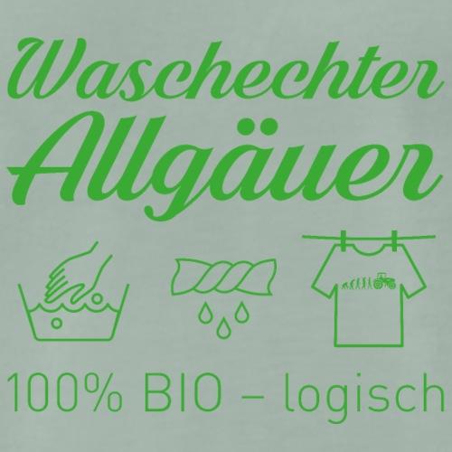 Waschechter Allgäuer grün - Männer Premium T-Shirt