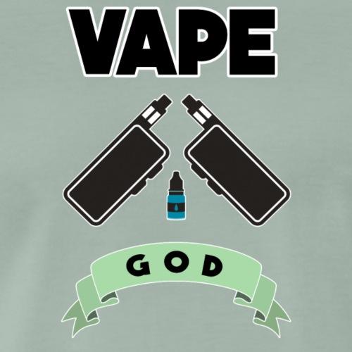 Vape God - Men's Premium T-Shirt