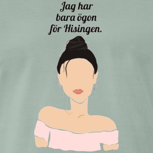 Eyes for Hisingen - Premium-T-shirt herr