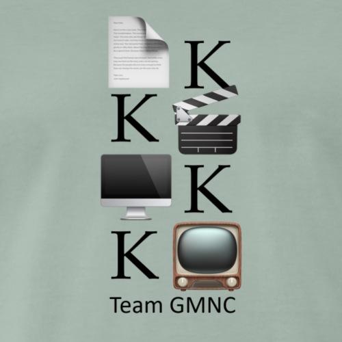 Exklusiv designtes 4K Logo für Filmmaker - Männer Premium T-Shirt