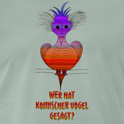 Komischer Vogel - Männer Premium T-Shirt