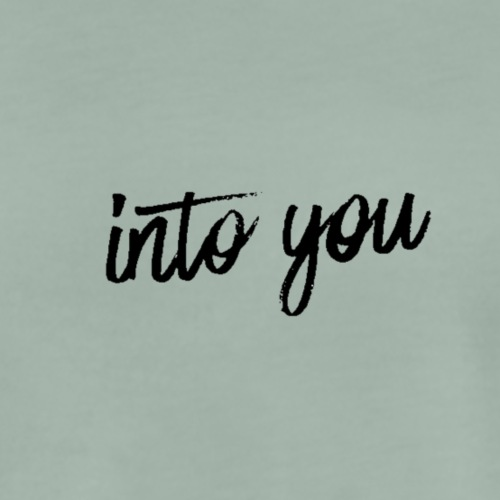 Into you - Mannen Premium T-shirt