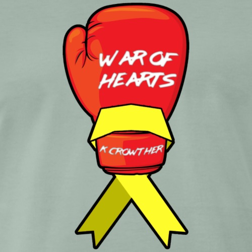 War of Hearts   K. Crowther Glove - Men's Premium T-Shirt