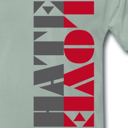 LOVEHATE2 - Maglietta Premium da uomo