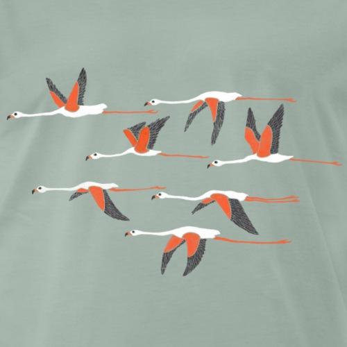 Flamingos - Männer Premium T-Shirt