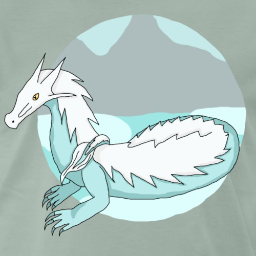 Little Ice Dragon - Men's Premium T-Shirt