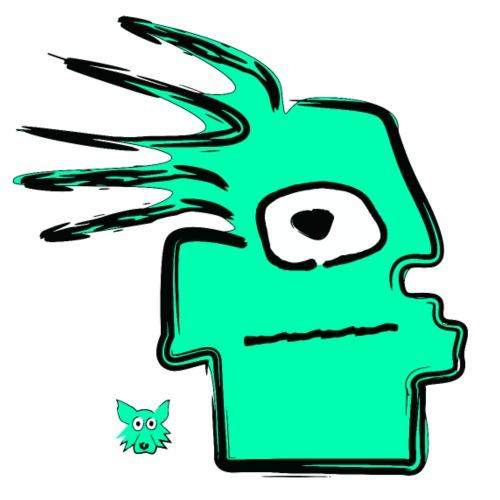 geen tribal puppet - Maglietta Premium da uomo