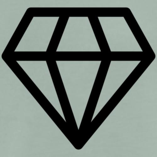 diamond luxury 2 - Camiseta premium hombre