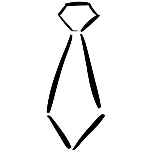 Krawatte Krawatten Anzug Anzüge Klassisch schick - Männer Premium T-Shirt