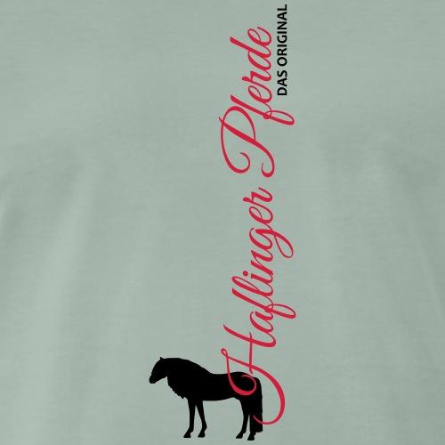 Haflinger Pferde - Männer Premium T-Shirt