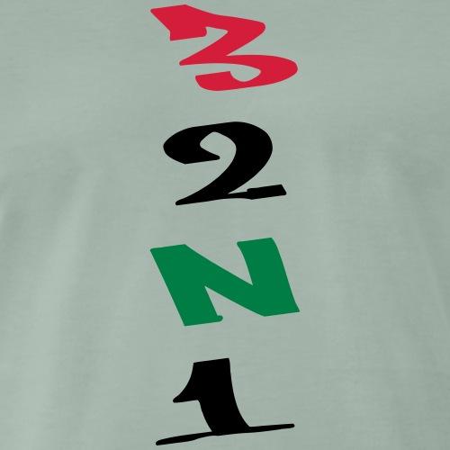 3 Gänge Gears Graffiti - Männer Premium T-Shirt