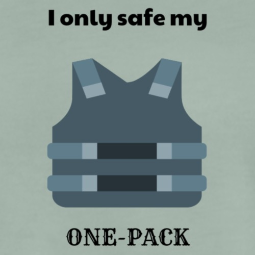 i only safe my one-pack - Männer Premium T-Shirt