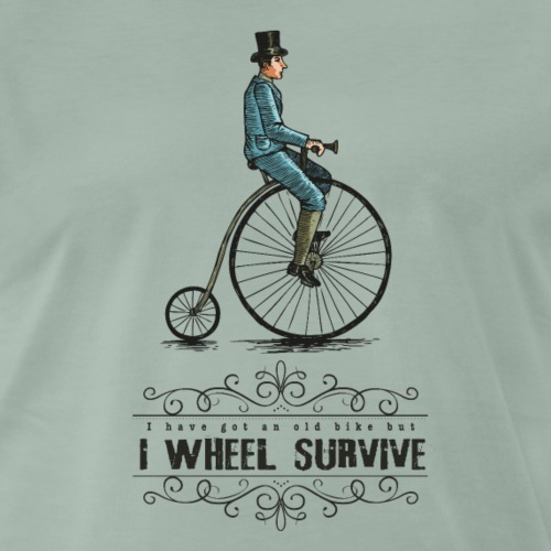 I WHEEL SURVIVE - T-shirt Premium Homme