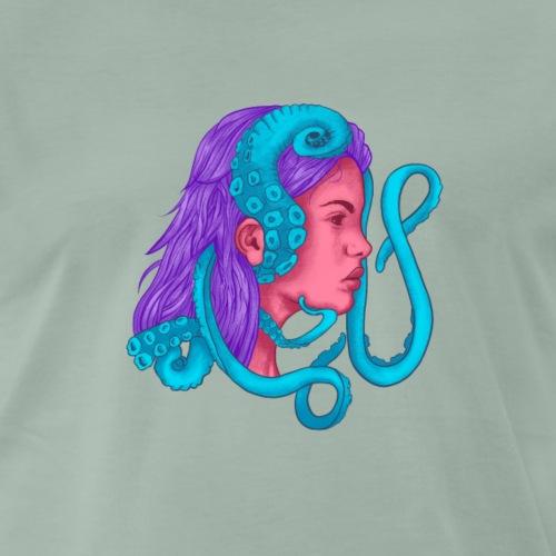 Mujer Tentaculos - Camiseta premium hombre