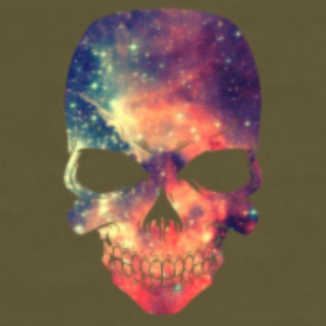 universe-space-galaxy-skull