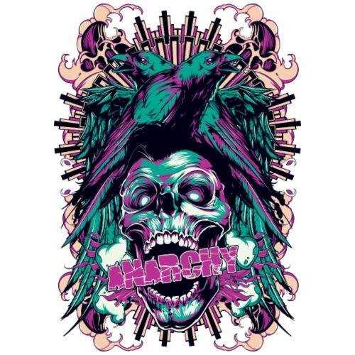 Anarchy - Camiseta premium hombre