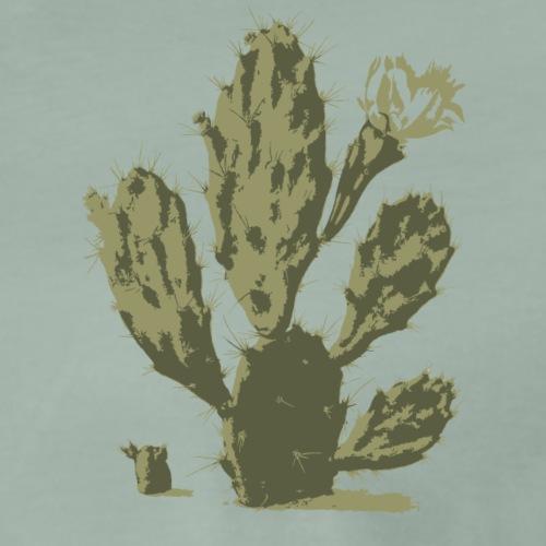 Pear Cactus in Bloom - T-shirt Premium Homme