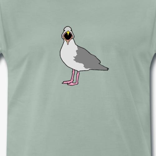Seagull - Herre premium T-shirt