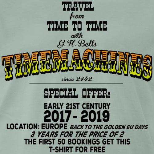 Timemachine Promoshirt for Bright Shirt EU Edition - Männer Premium T-Shirt