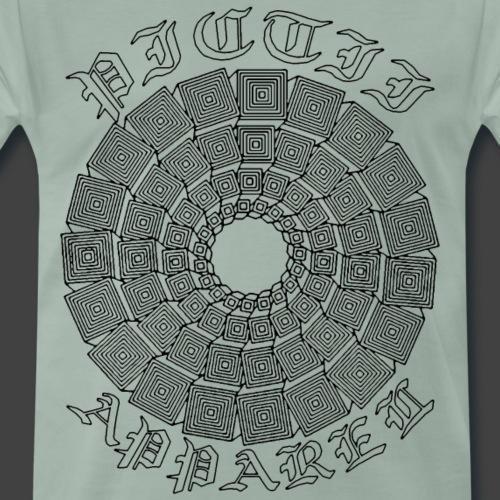RFPICAPP046B - CLEAR - Männer Premium T-Shirt