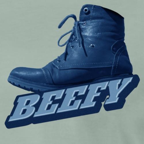 Beefy Boot blue png - Men's Premium T-Shirt