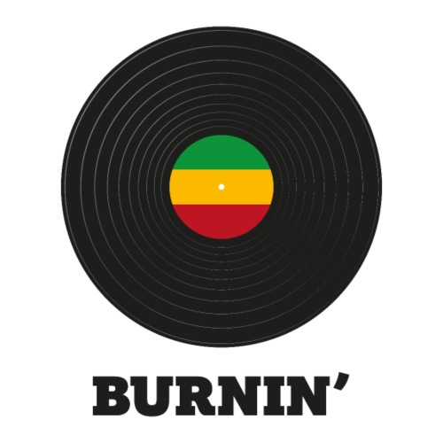 BURNIN' - Men's Premium T-Shirt