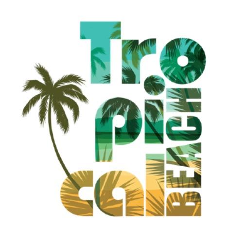 Tropical Beach - Männer Premium T-Shirt