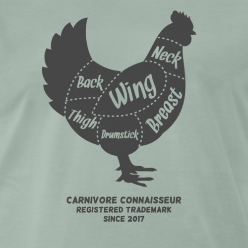 Fleischteile beim Hühnchen - Männer Premium T-Shirt