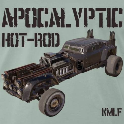 Apocalypyic Hot-Rod - T-shirt Premium Homme