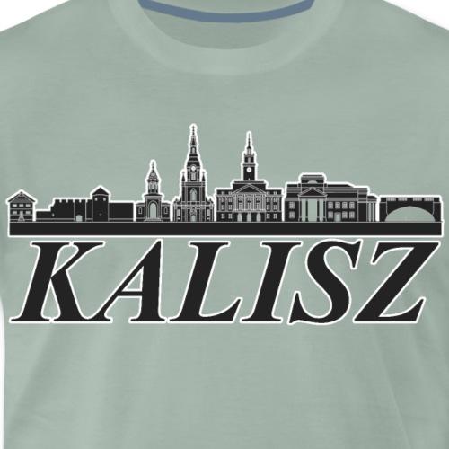 Panorama Kalisza - Koszulka męska Premium