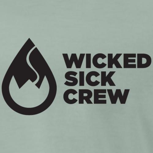 Wicked Sick Crew Tropfen schwarz - Männer Premium T-Shirt