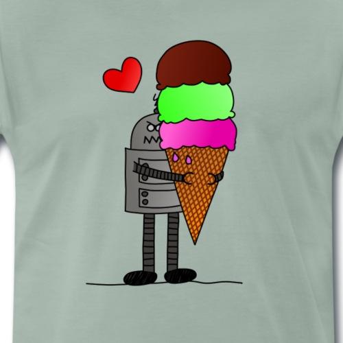 Ice cream love - Männer Premium T-Shirt