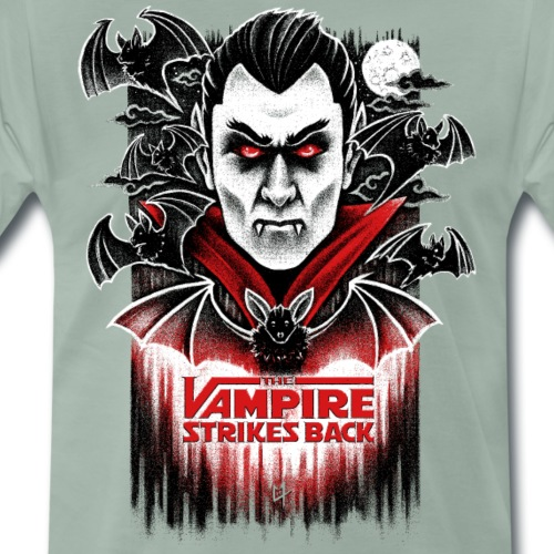 The Vampire Strikes Back - Men's Premium T-Shirt