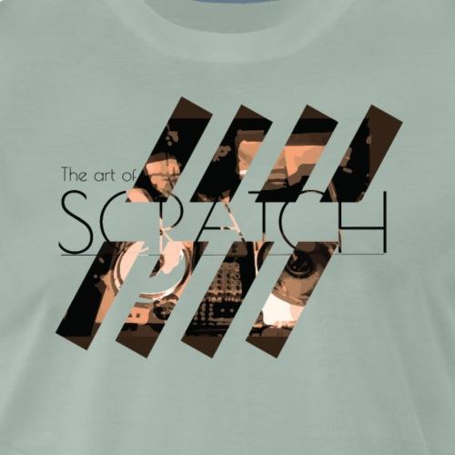 The art of Scratch - T-shirt Premium Homme