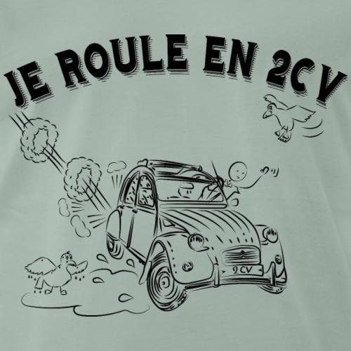 Je roule en 2ch - T-shirt Premium Homme