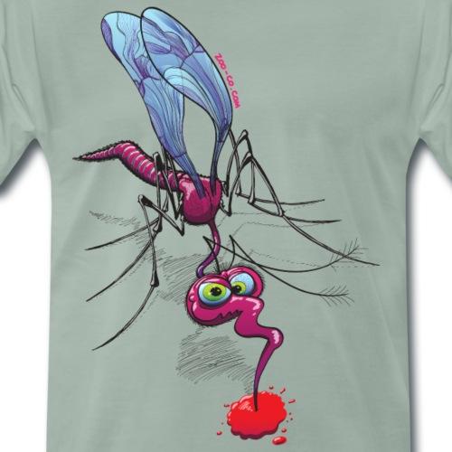 Mosquito Sucking Blood - Men's Premium T-Shirt