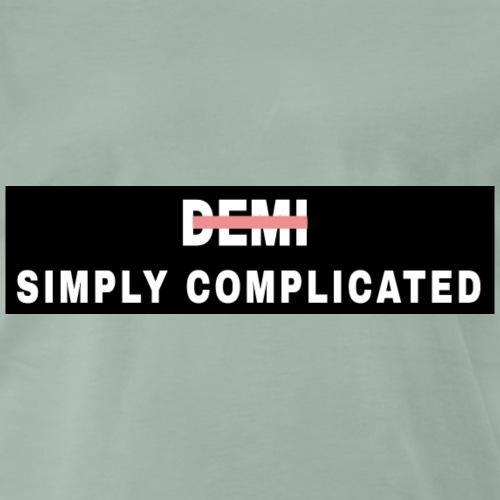 Simply Complicated black - Men's Premium T-Shirt
