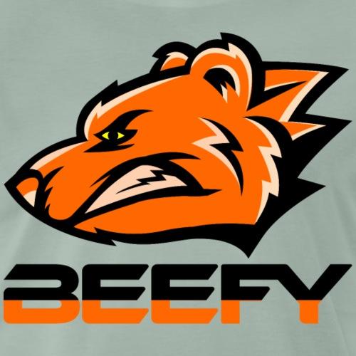 Beefy Growling Bear png - Men's Premium T-Shirt