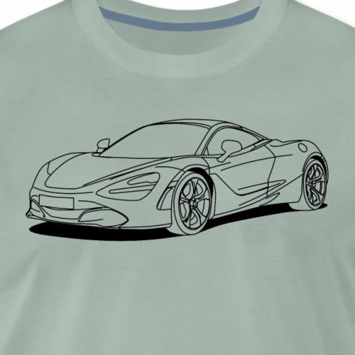 720s outline - Men's Premium T-Shirt