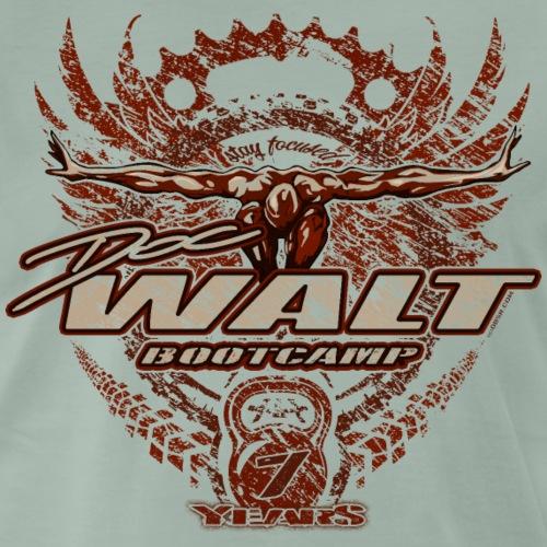 DOC WALT FOCUS 7Y (Logo einfach) - Männer Premium T-Shirt