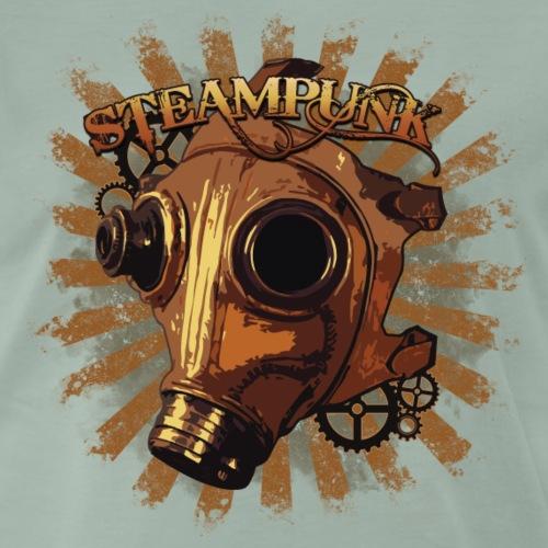Steampunk mask - Men's Premium T-Shirt