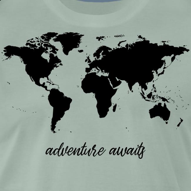 adventure awaits - Weltkarte