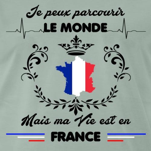 MA VIE EST EN FRANCE - T-shirt Premium Homme