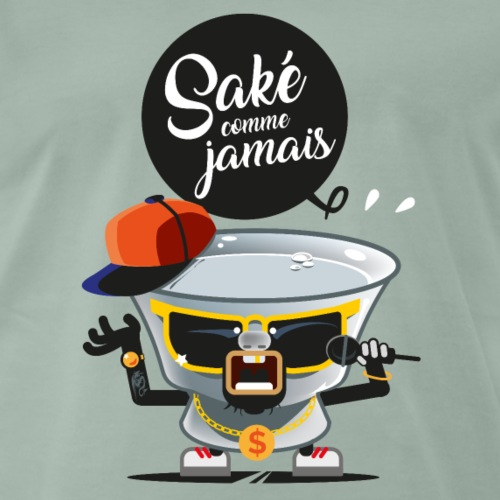 saké comme jamais - T-shirt Premium Homme