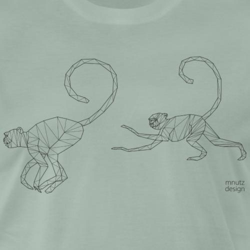 ORIGAMI - Affen - Männer Premium T-Shirt