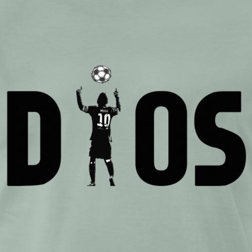 D10S BLACK - Camiseta premium hombre
